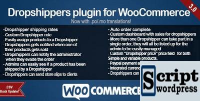 Plugin Wordpress WooCommerce dropshipping