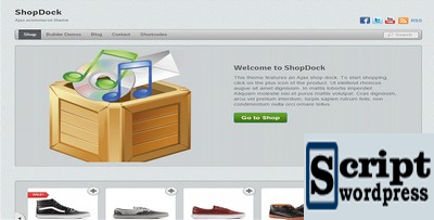 ShopDock - Tema Wordpress