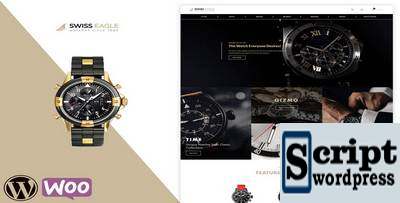 Swiss Eagle - Tema WooCommerce Relogios Shop