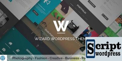 Tema WordPress para portfólio
