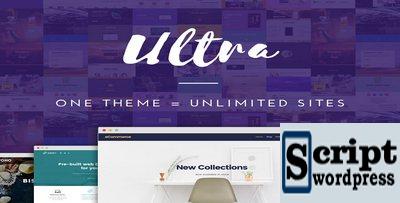 Ultra Theme - Tema Profissional com 18 Demo Incluindo