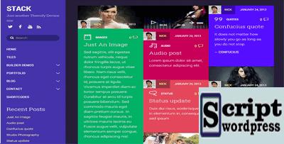 Stack - Template Wordpress 2020