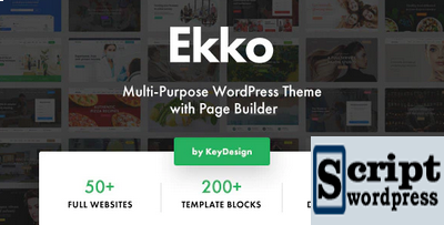 Ekko +50 Temas WordPress Para Download 2020