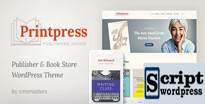 Printpress - Tema de WordPress para publicação de livros