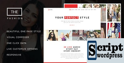 The Fashion - Template Wordpress Agência de Modelos