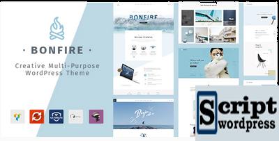 Bonfire - Tema WordPress WordPress multiuso criativo
