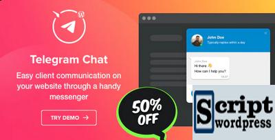 Telegram Chat - Plugin Wordpress