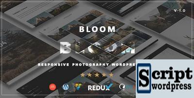 Tema Wordpress Portfólio Fotografia