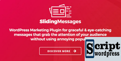 WordPress Marketing Plugin — Mensagens deslizantes