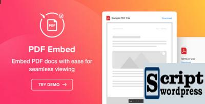 WordPress PDF Embutido - Plugin Visualizador