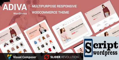 Adiva - eCommerce WordPress Tema