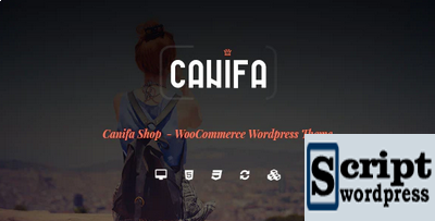 Canifa - O tema WordPress de moda WooCommerce