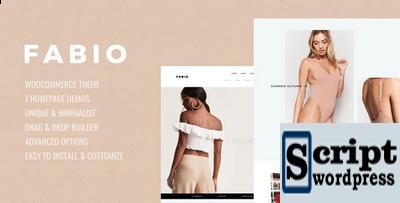 Fabio WooCommerce Template Wordpress