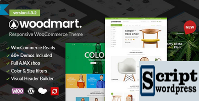 WoodMart - Template WordPress responsivo WooCommerce