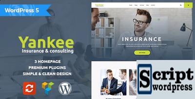 Yankee - Tema Wordpress Profissional Para Consultoria