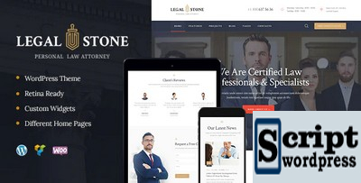 Legal Stone - Templates Para Sites De Advogados