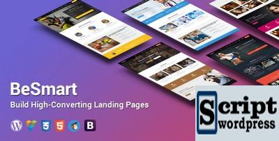 Página de destino de alta conversão BeSmart WordPress