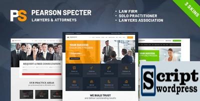 Pearson Specter - Template Para Escritório de Advocacia