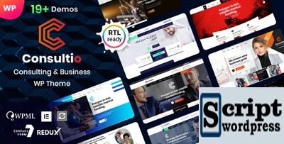 Consultio - Template Wordpress Para Consultoria e Serviços