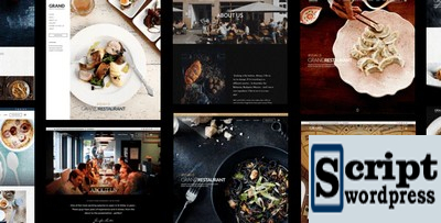 Grand - Templates Wordpress Restaurante