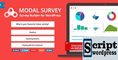 Modal Survey - Plugin de Pesquisa do WordPress