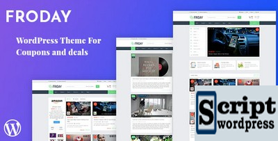 Froday - Template Wordpress Cupons e Ofertas