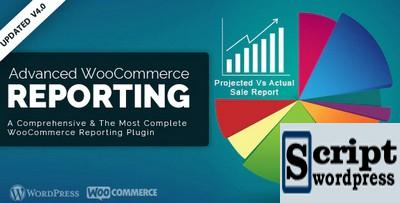 Advanced WooCommerce Reporting - Plugin Wordpress Sistema de relatórios WooCommerce avançado