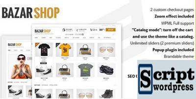 Bazar Shop - Tema WordPress Multiuso da Loja Online