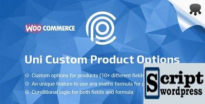 Uni CPO (Premium) - Opções personalizadas de WooCommerce