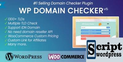 WP Domain Checker - Plugin Disponibilidade de nomes de domínio WordPress