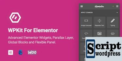 WPKit For Elementor - widgets para Elementorv