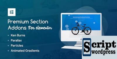 Add-ons de seção premium para Elementor