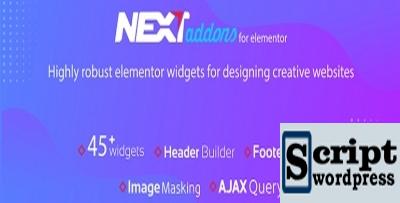 Next Addons Pro - Elementor