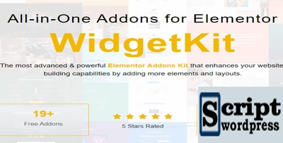 WidgetKit Pro - Elementor Widget Bundle para site WordPress