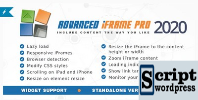 Advanced iFrame Pro - Plugin Wordpress
