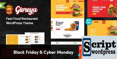 Tema Wordpress - Restaurante Fast Food & Delivery WooCommerce